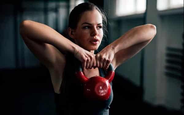 Entrenamiento con pesas para mujeres